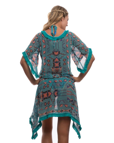 NATIVE CHEYENNE TUNIC DESPI 5532