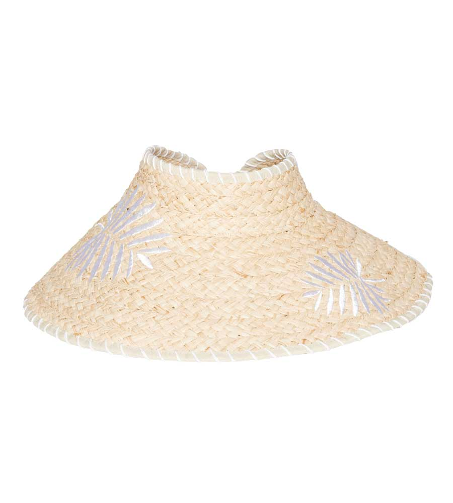 NATURAL PALMA ROLL UP HAT BY LSPACE