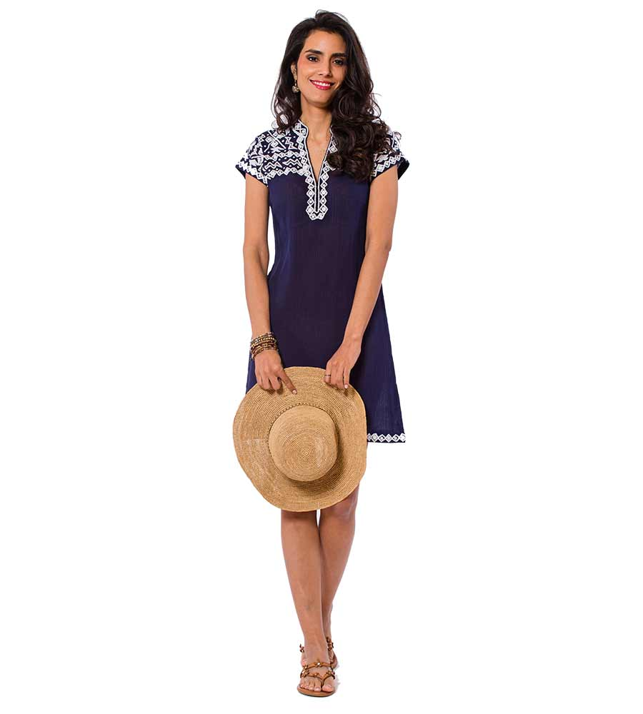 NAVY BRANDY DRESS SULU BRANDY1
