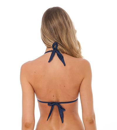 NAVY SHELLY BIKINI TOP DESPI 0401T
