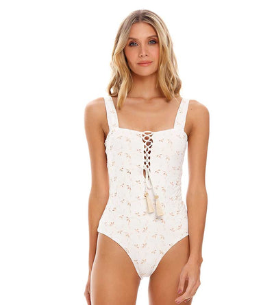 NEW ROOTS EYELET ONE PIECE COSITA LINDA CL21265M