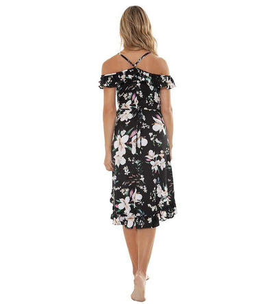 NIGHT FALL ROSE DRESS AGUA BENDITA AF4008619-1