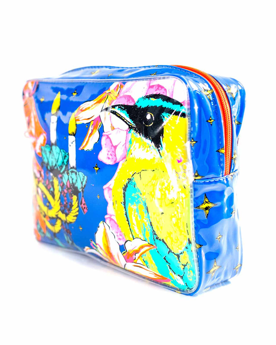 NOCHE CUBANA MEDIUM COSMETIC BAG BY MOLA MOLA