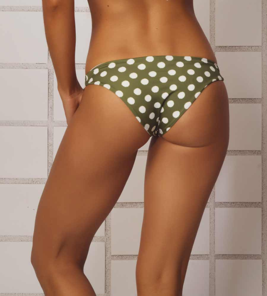 51566b42be OLIVE GREEN CURVY BIKINI BOTTOM ANCORA F179BSC
