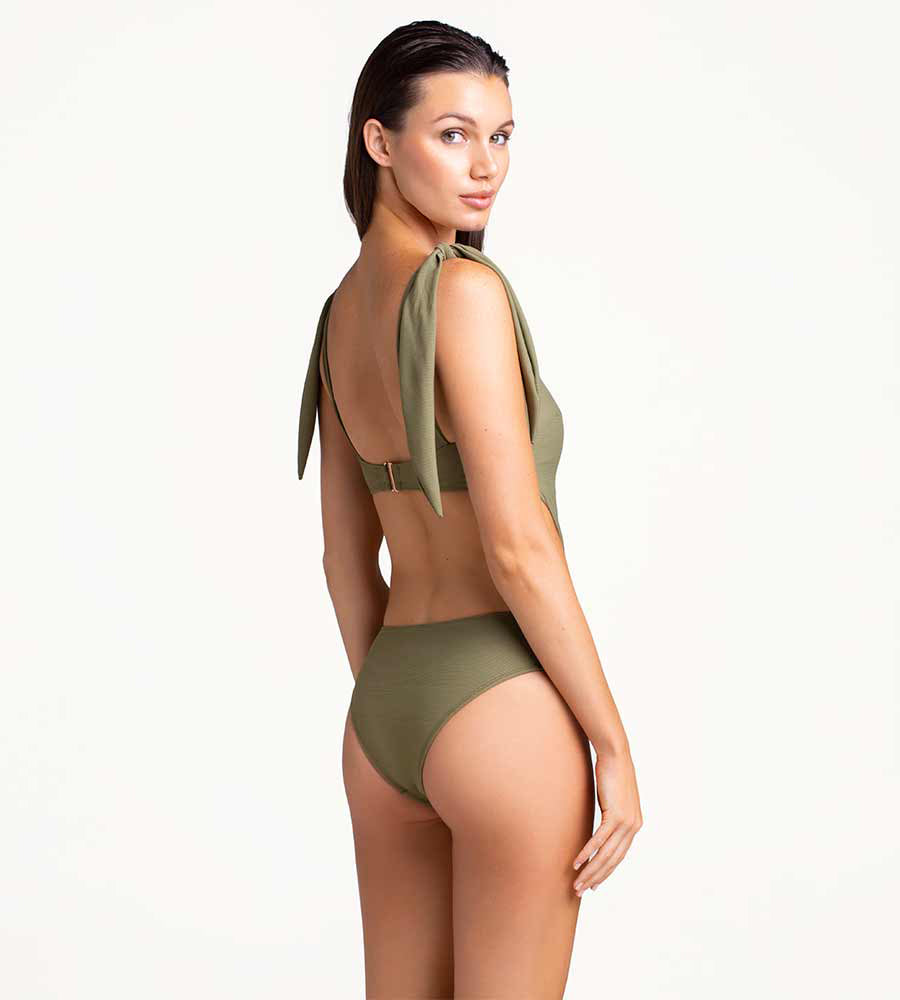 OLIVINE TRIKINI ONE PIECE BY TOUCHE
