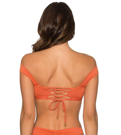 ORANGE LATERITE ZELIYA TOP AERIN ROSE T440ORLA
