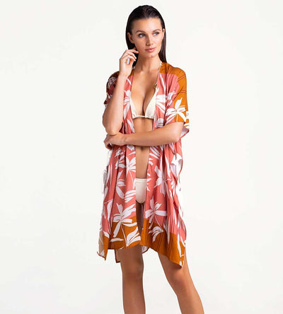 PAPAYA PUNCH SHORT COVER UP TOUCHE 0A60001