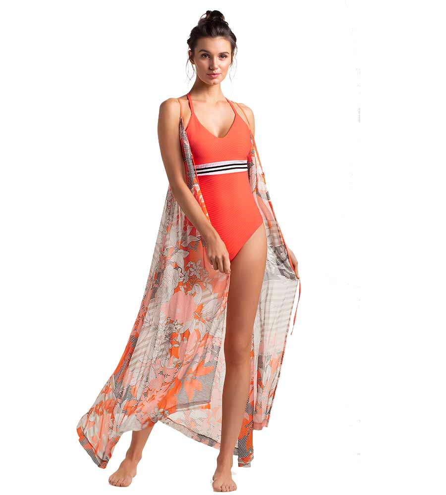 PASSION FRUIT LONG COVER UP TOUCHE 0A42092