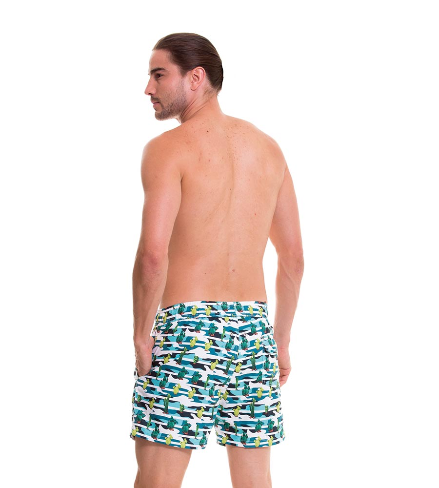 PRICKLY PEAR SWIM TRUNKS MILONGA PAUTR1