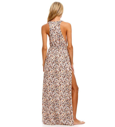 PAVANA LESLIE MAXI DRESS AGUA BENDITA AF4022020L1