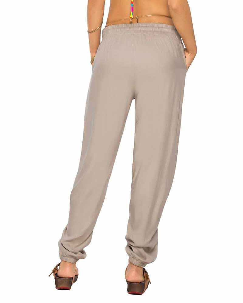 KHAKI TUBE PANT BY PHAX