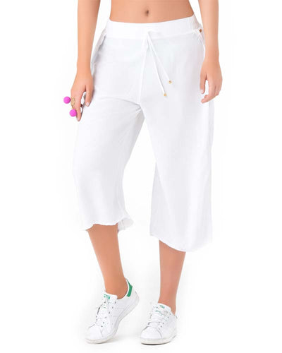 WHITE CROP BEACH PANT PHAX PF11710056-100