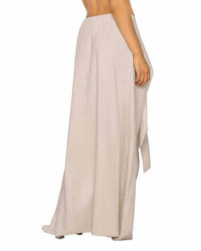 SAND LONG LINEN SKIRT PHAX PF11720074-213