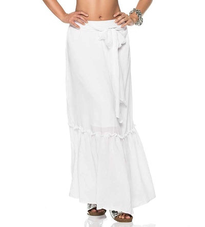 DULCE WHITE LONG SKIRT PHAX PF11720080-100