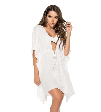 WHITE KAFTAN DRESS PHAX PF11810355-253