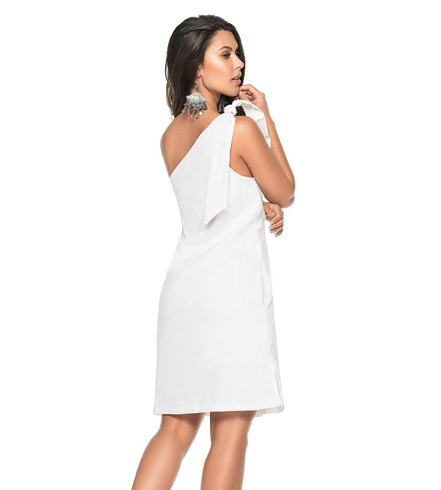 JULIA LINEN ASYMMETRICAL DRESS PHAX PF11810370-100