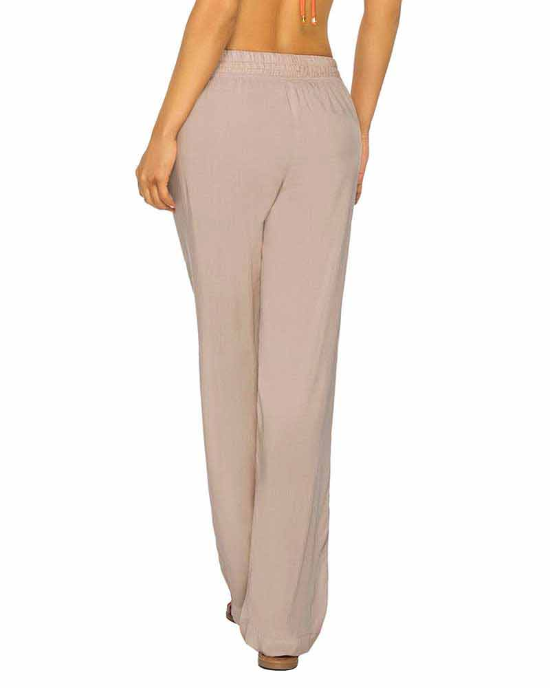 SAND COLOR MIX RESORT PANT BY PHAX