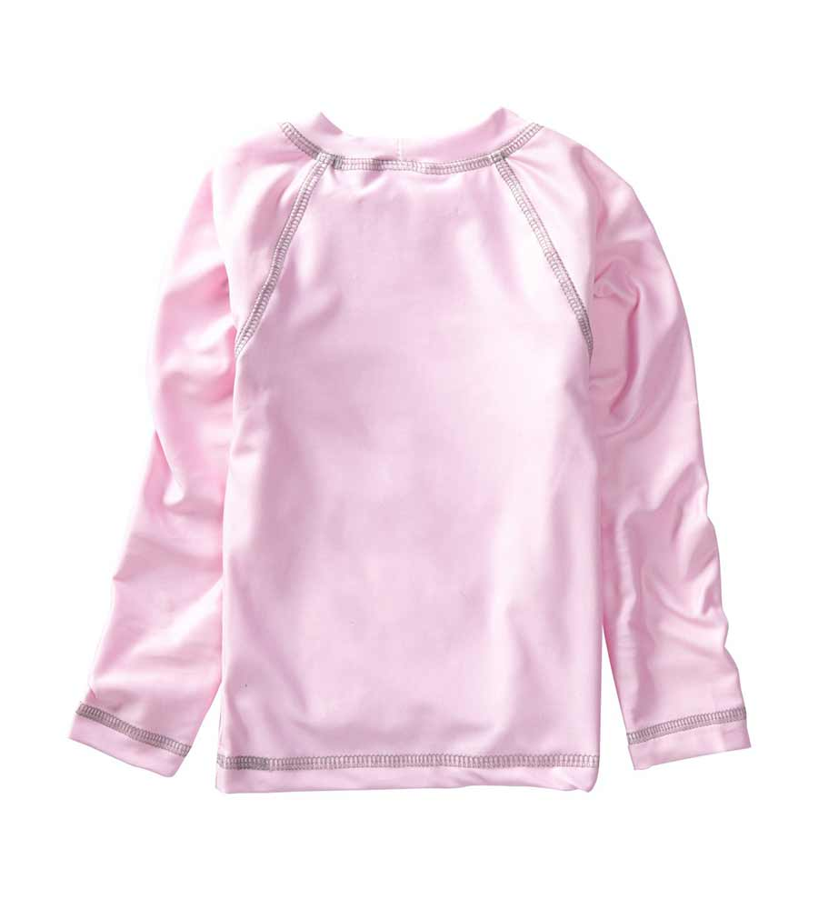 PINK LONG SLEEVE SURFER RASHGUARD AZUL 7007-P