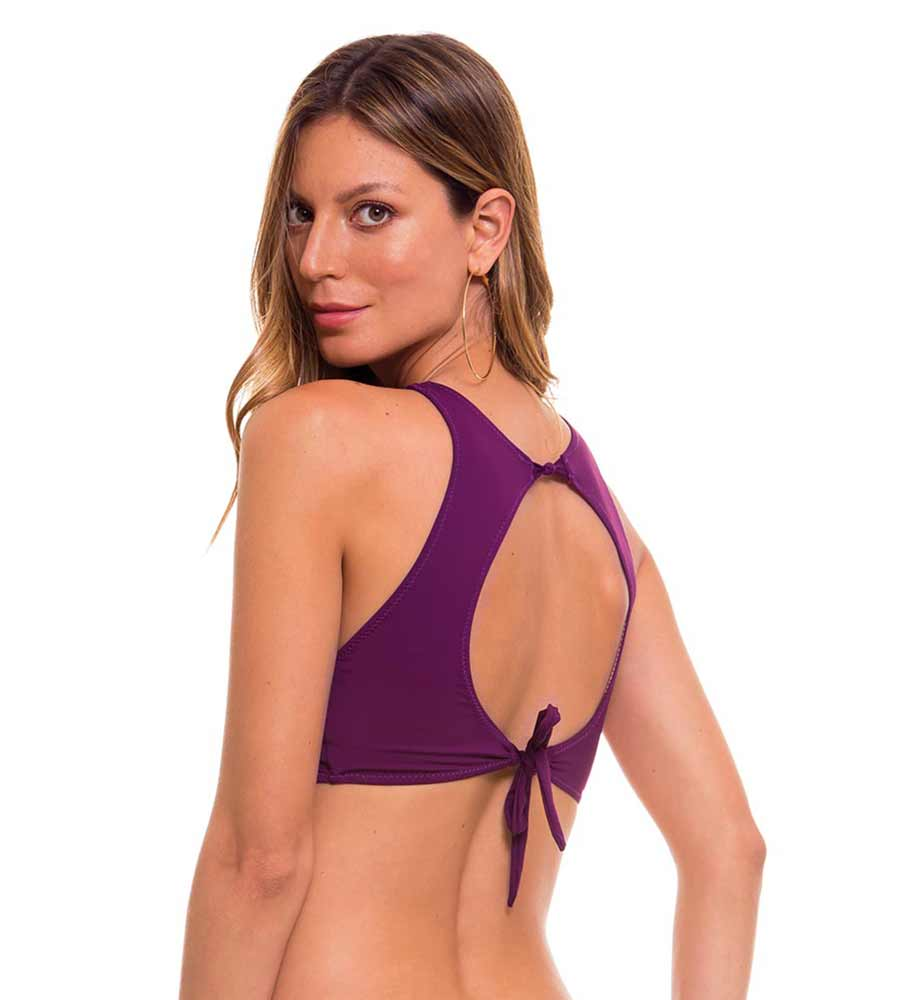 PORTUGAL WINE HIGH NECK BIKINI TOP MILONGA POR502