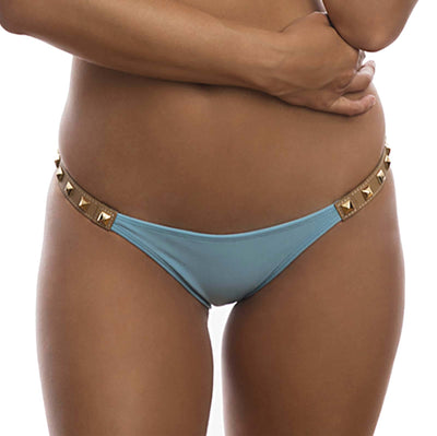 POWDER BLUE ROCK N ROLL BIKINI BOTTOM DESPI 1327BF