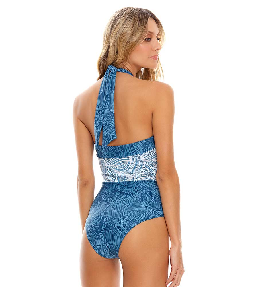 PURE AIR HALTER ONE PIECE COSITA LINDA CL21306M