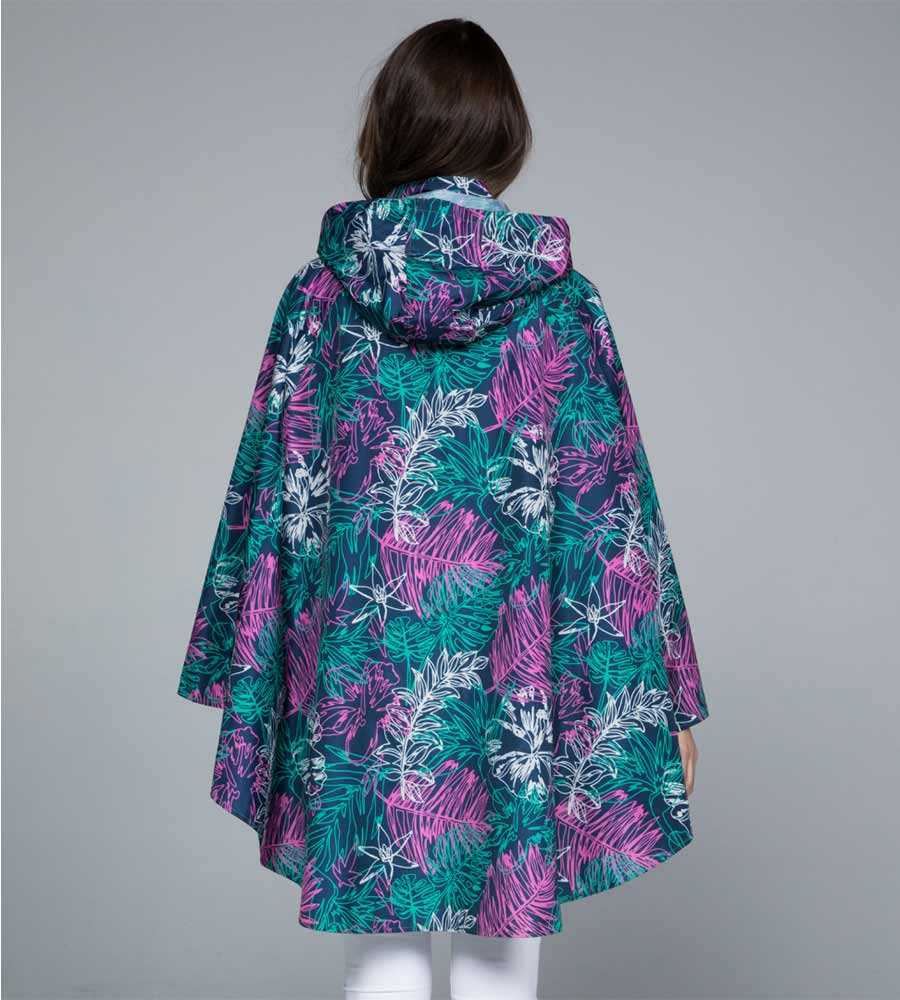 RAINFOREST RAIN PONCHO BY NOVEMBER RAIN