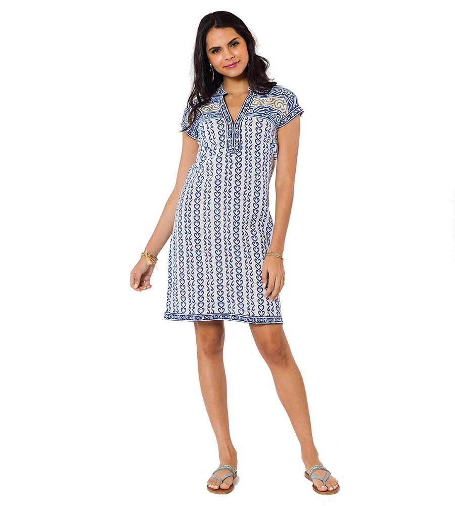 REGATTA BLUE BERMUDA DRESS SULU BERMUDA1