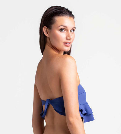 REGATTA RUFFLE BANDEAU TOP TOUCHE 0B38001
