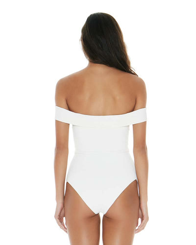 RIDIN' HIGH RIBBED CREAM ANJA ONE PIECE LSPACE RHAJMC18-CRM