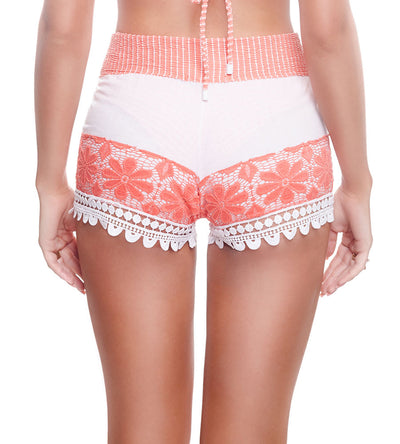 RIBBED CORAL GRACE SHORT DESPI 4036