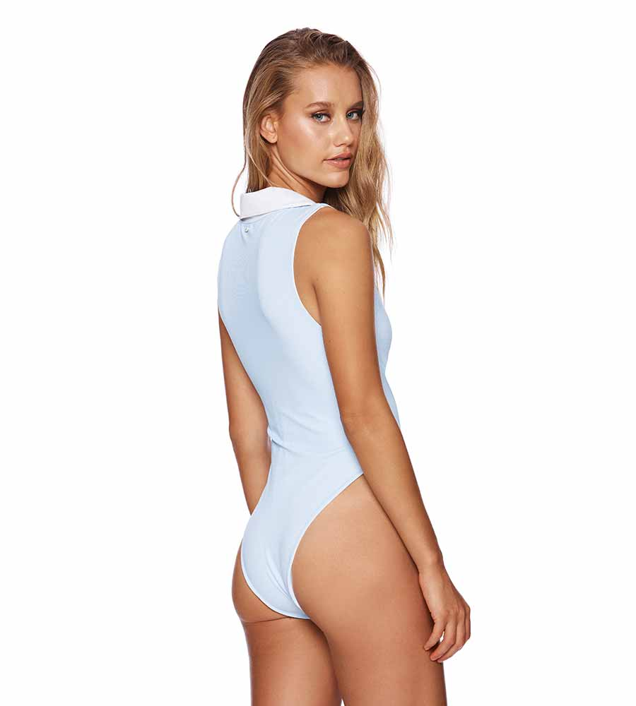 RIVIERA STRIPE LOLA ONE PIECE BY BEACH BUNNY