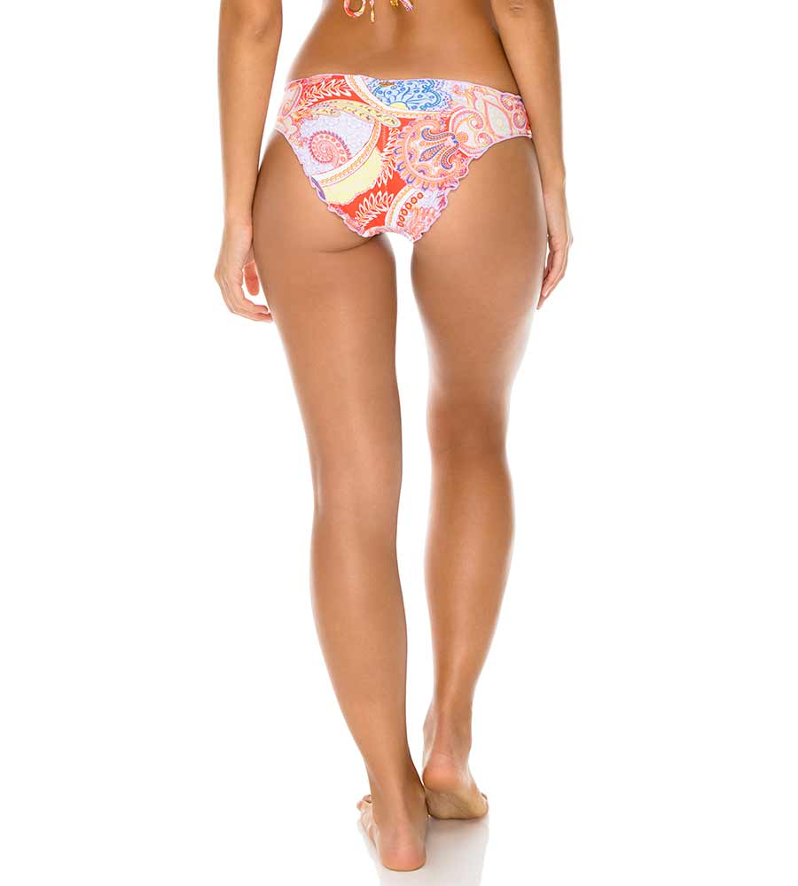 ROJO DYNASTY RUCHED FULL BOTTOM LULI FAMA L60052P-483
