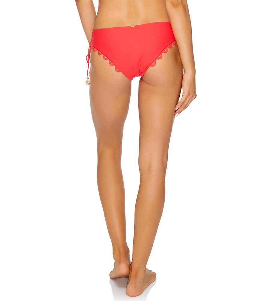 ROJO NOCHES DE SEVILLA LACE TRIM DRAWSTRING MODERATE BOTTOM LULI FAMA L586M92-483