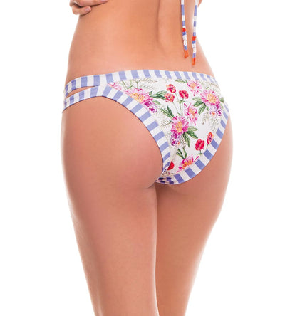 ROMANTIC FLOWERS BASIC BIKINI BOTTOM MILONGA ROML02