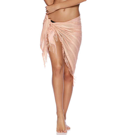 ROSE GOLD INDIAN SUMMER PAREO BEACH BUNNY B16130C8-ROGL