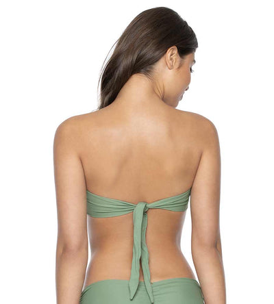 SAGE COLOR BLOCK BANDEAU TOP PILYQ SAG-153B