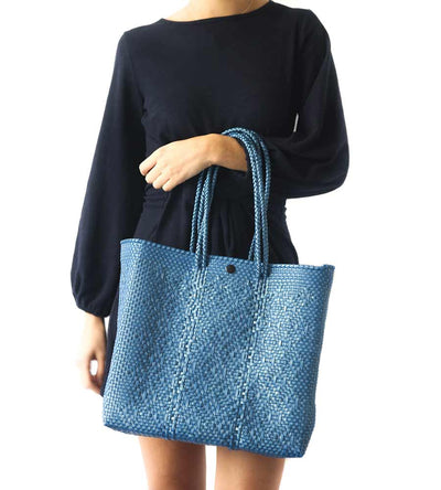 SANT BLUE TOTE BAG TIN MARIN T3