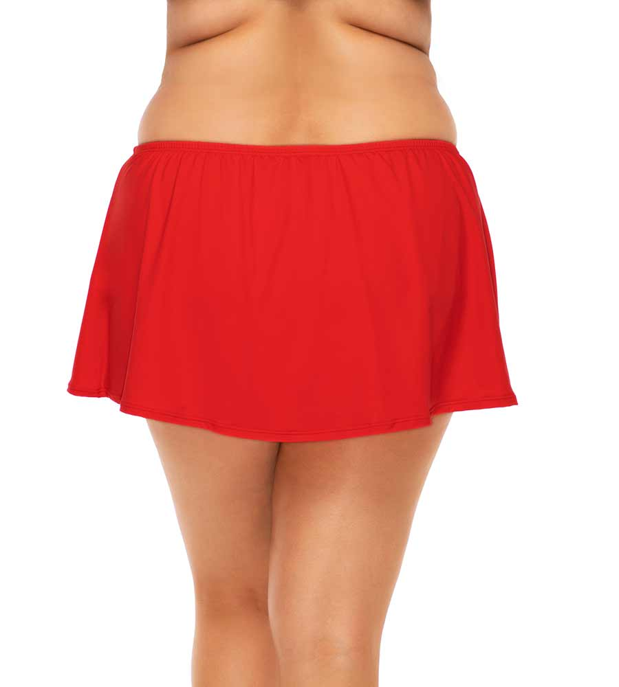 SCARLET ISLAND TIME SWIM SKIRT SUNSETS ESCAPE 336BSCRL