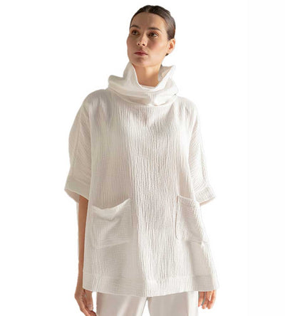 SELF LOVE PONCHO TOUCHE 2981011