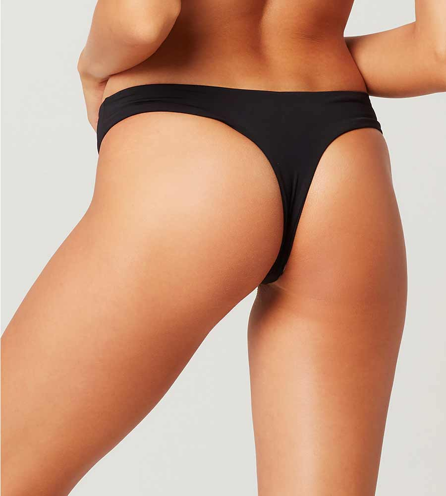 SENSUAL SOLIDS BLACK RIO BOTTOM BY LSPACE