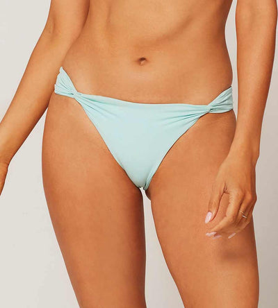 SENSUAL SOLIDS LIGHT TURQ LA JOLLA BOTTOM LSPACE LSLJB20-LIT