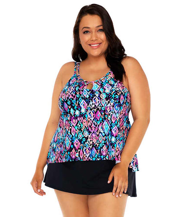 SERENE DREAM SADIE TANKINI TOP SUNSETS ESCAPE 584TSERDR