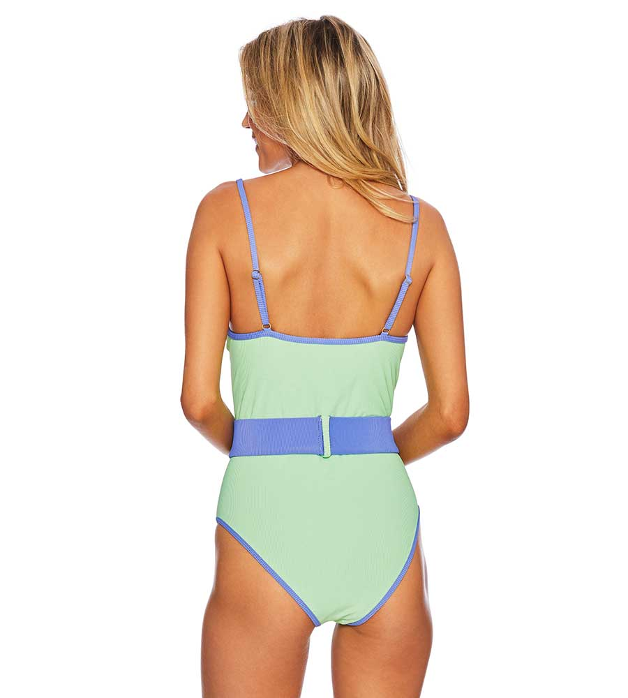 SHERBET GINGER ONE PIECE BY BEACH RIOT