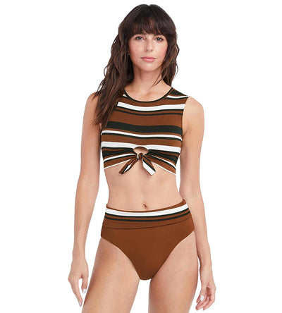 SIMONE HIGH WAIST BOTTOM ROBIN PICCONE 214869-CCB