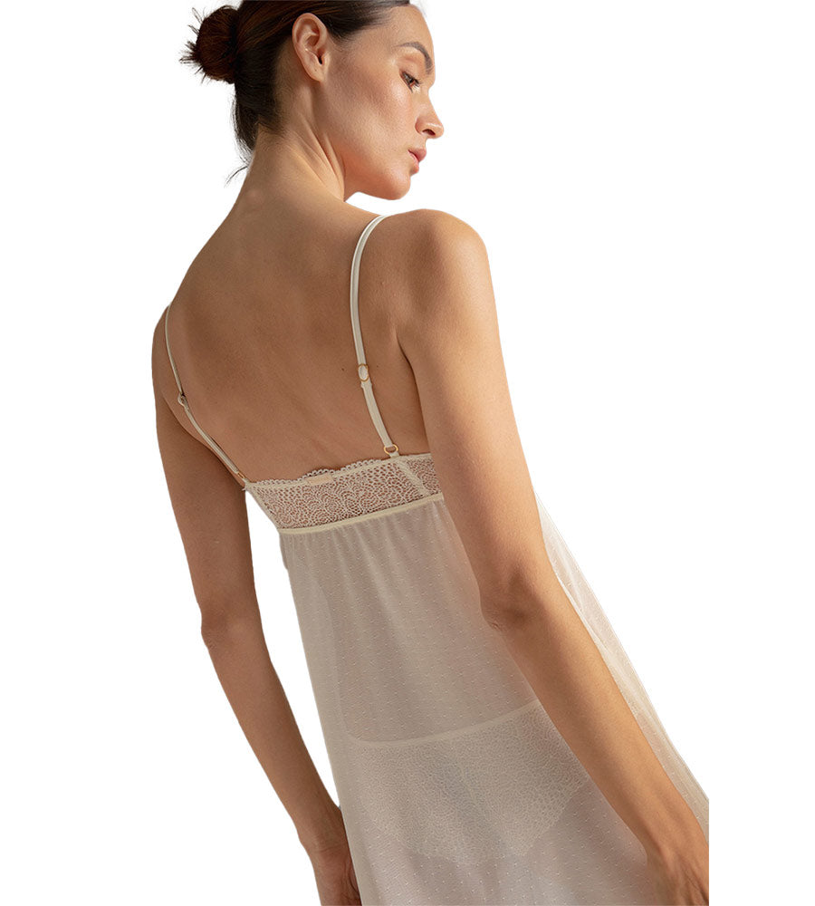 SMOKED PEARL SHEER CAMISOLE TOUCHE 2528011