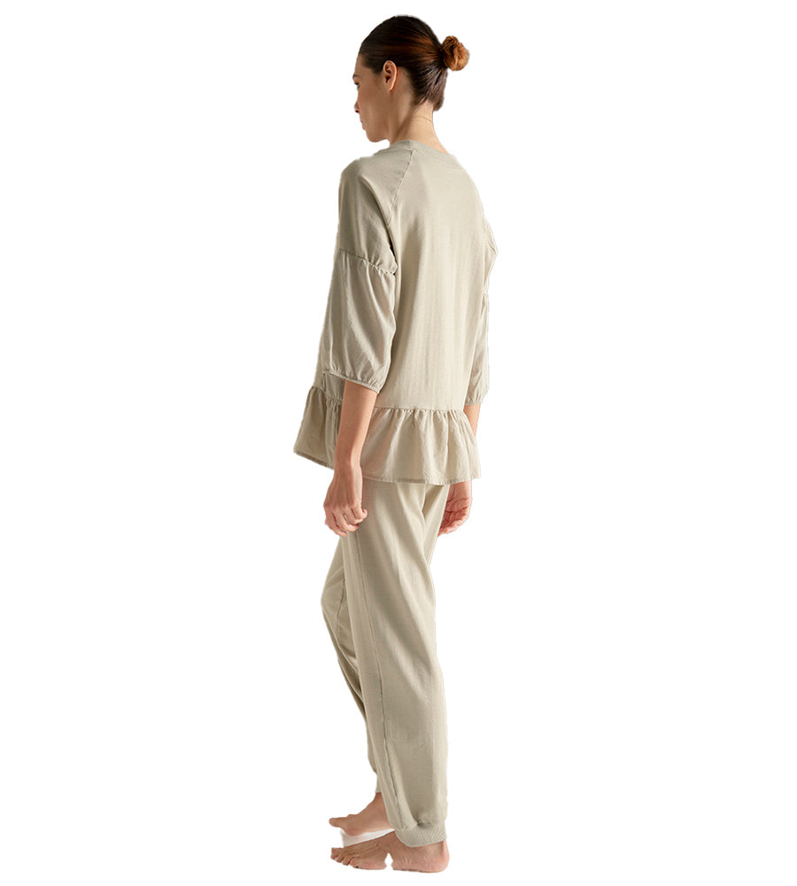 SOFT SAGE LONG PANT PAJAMA SET TOUCHE 2569011