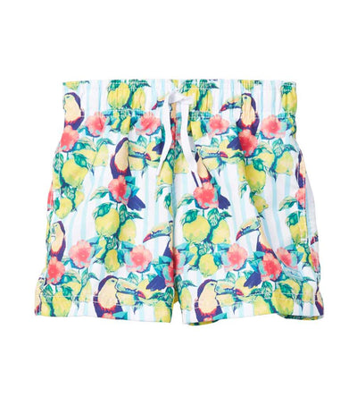 SOUR TOUCAN SWIM SHORTS AZUL 282