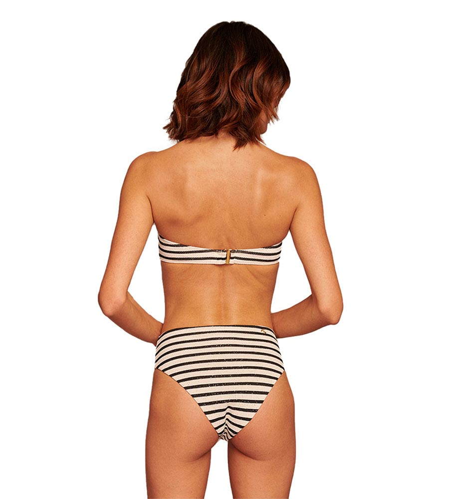 STRIPE A POSE BANDEAU TOP BY TOUCHE