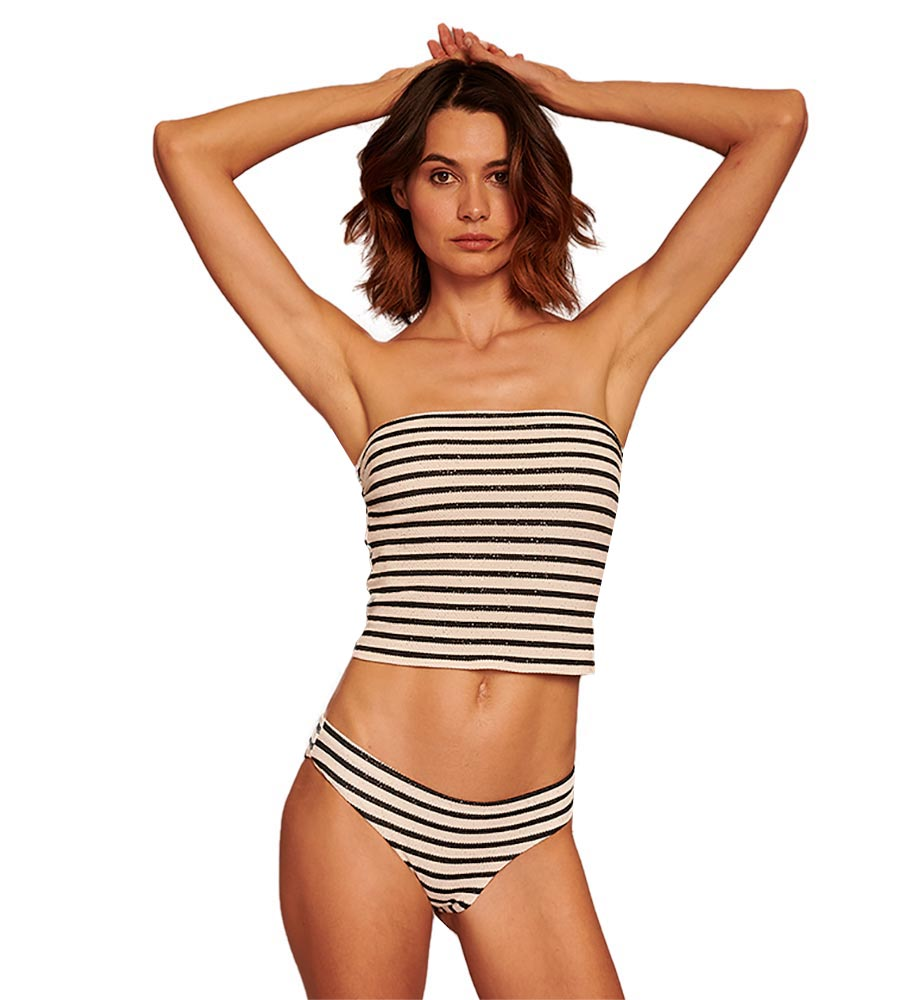 STRIPE A POSE BASIC FULL BOTTOM BY TOUCHE