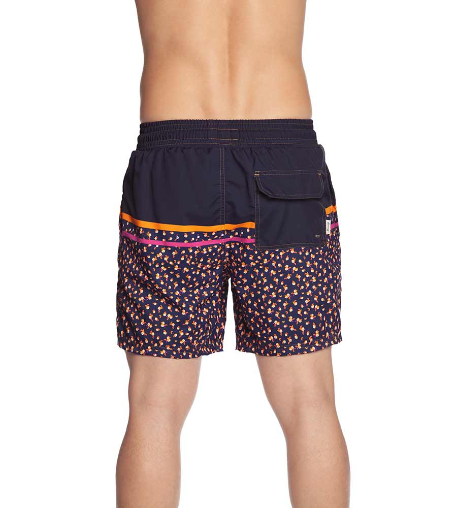 NEON LEAVES MENS SWIM TRUNKS BY MAAJI